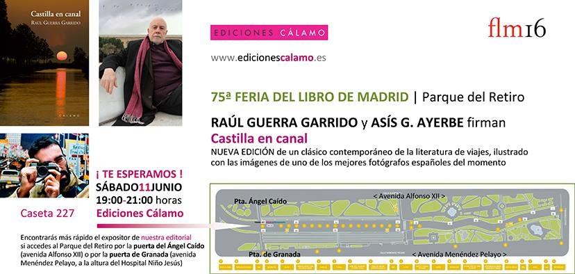 Feria del Libro Castilla en Canal Guerra Garrido Asis Ayerbe